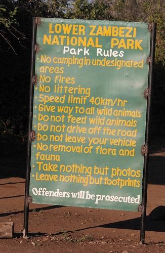 list national park